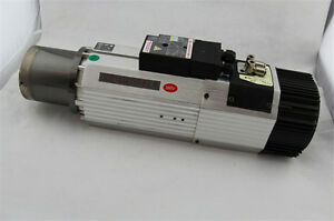Cnc 9kw 220 380v Atc Spindle Motor Iso30 bt30 China Hsd Spindle 11kw Vfd 1000hz