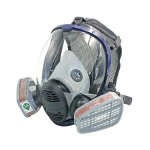 7in1 Face piece Respirator Spray Painting Fogging For 3m 6800 Full Face Gas Mask