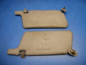 94 97 Acura Integra Oem Sun Visors Shades Stock Factory X2 Tan 3