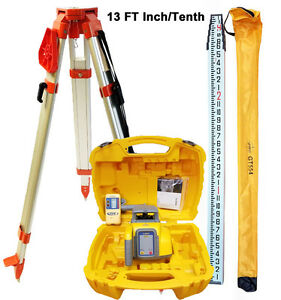 Spectra Precision Ll300n 8 Laser Level With Tripod 13 Ft I t Rod