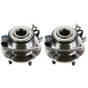 Pair 2 Front Wheel Hub Bearing For 1998 1999 Oldsmobile Bravada All Types