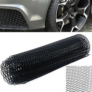 40 X 13 Car Black Grille Mesh Net Sheet Aluminum Alloy Rhombic Auto Grill