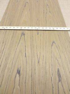 Teak Composite Wood Veneer Sheet 24 X 96 With Paper Backer 1 40th Thick efw