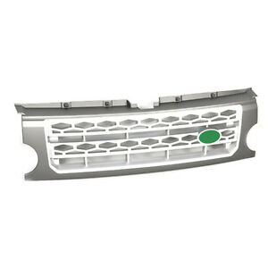 For Land Rover Discovery Lr3 2005 2009 Gray Silver Front Grille Trim Replace