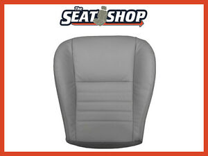 00 04 Ford Mustang Saleen Gt Supercharged Driver Bottom Leather Seat Cover Grey