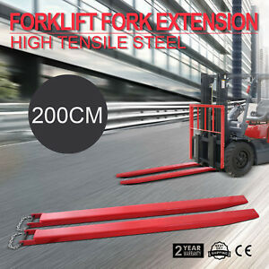 82x4 9 Forklift Pallet Fork Extensions Pair Industrial Strength Fit 4width