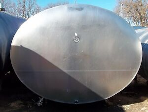3000 Gallon Darikool Stainless Steel Bulk Milk Tank Storage Only