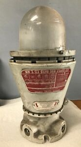 Appleton Electric Company A 51 Series Vented Explosion Proof Lighting Fixture st