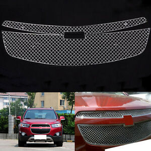 For Chevrolet Cruze 2009 2014 Stainless Front Grill Honeycomb Mesh Grille