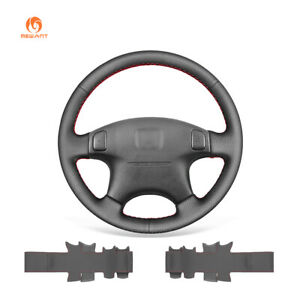 Artificial Pu Leather Car Steering Wheel Cover For Honda Civic Crv Prelude