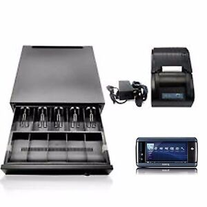 Master Chef Mobil Pos System For Fast Food Bakery Coffee Shop Full Package