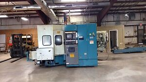 1987 Toyoda Fh 45 Horizontal Machining Center Fanuc 11m 23 X 22 X 19