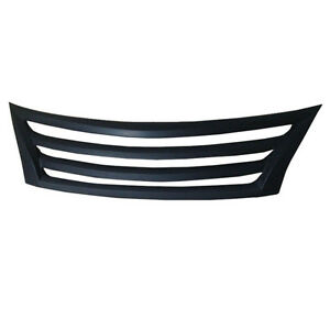 Black Front Grill Grille No Grid For Nissan Teana Altima 2013 2015