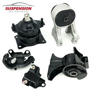 Motor Transmission Mount Kit Set For 2005 2006 Honda Odyssey 3 5l Vtec Ex Lx