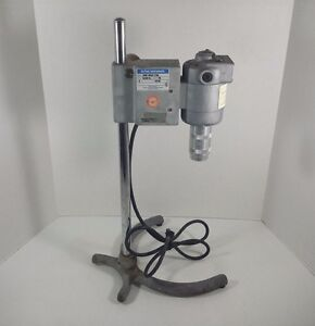 Dupont Sorvall Omni Variable Speed Mixer Homogenizer 17105 With 24 Tall Stand