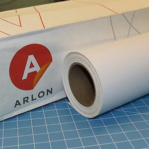White Arlon 5000 1 Roll 24 X 50 Feet Sign Cutting Vinyl