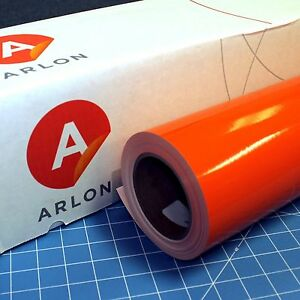 Orange Arlon 5000 1 Roll 24 X 50 Feet Sign Cutting Vinyl