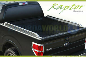 97 11 Ford Ranger 6 1ft Bed Truck Side Rails 1 9 Stainless Steel Raptor Series