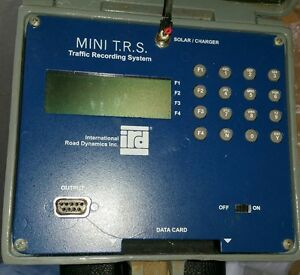 Ird Mini Trs Traffic Recording System Counter Solar Power