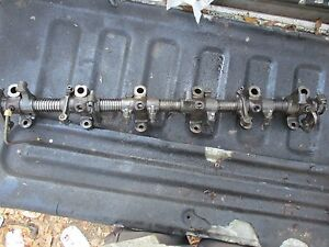 1977 Allis Chalmers 7000 Diesel Farm Tractor Rocker Arm Shaft Free Shipping