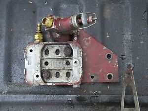 1977 Allis Chalmers 7000 Diesel Farm Tractor Fuel Filter Housing Free Shipping
