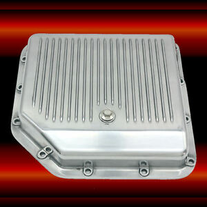 Aluminum Turbo 350 Transmission Pan For Chevy Oldsmobile Pontiac Buick Th350