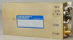 Fs 3350 8 Frequency Sources Inc Microwave Ampl 4 2 4 4ghz