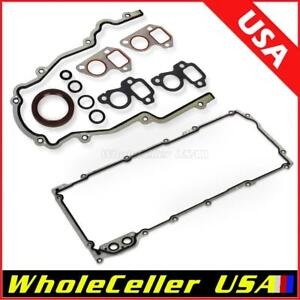 Timing Cover Oil Pan Gasket Fit Buick For Gmc For Chevy 4 8l 5 3l 5 7l 6 0l 6 2l