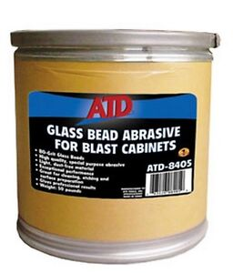 Glass Bead Abrasive For Blast Cabinets Atd 8405 Brand New