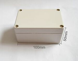 8pcs Electrical Instruments Plastic Box 100 68 50mm Diy