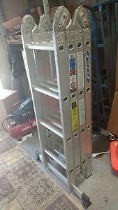 Werner Ladder 16ft Folding Multiladder Good For Scaffolding stairwells