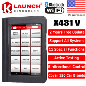 Launch X431 V 8 Inch Auto Car Diagnostic Scanner Full System Scanpad Tablet
