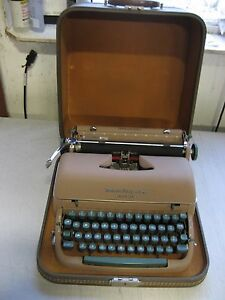Refurb Remington Miracle Tab Quiet riter Portable Manual Typewriter W warranty