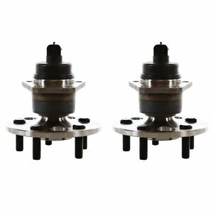 Pair Rear Wheel Hub Bearing For 2003 2004 Chevrolet Cavalier 4 Wheel Abs Only