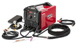 Lincoln Square Wave Tig 200 Tig Welder K5126 1 New Free Tig Gloves