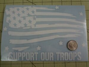 Support Our Troops 8 Inch Decal