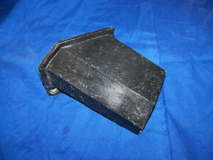 1963 Corvette Lower Heater Duct Extension Original Very Hard To Find