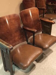 Art Deco Theatre Chairs