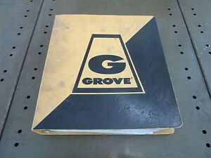 Grove Crane Parts Catalog Rt418