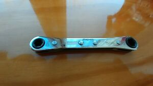 Snap On Tools Zero Offset 6 Pt Ratcheting Box Wrench R810sc
