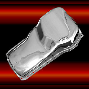 Chrome Oil Pan For Ford 351 Cleveland Engines Front Sump Ford 351 C