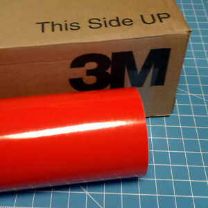 Light Red Roll 24 X 100 3m Scotchcal Series 50 Graphic Sign Cutting Vinyl