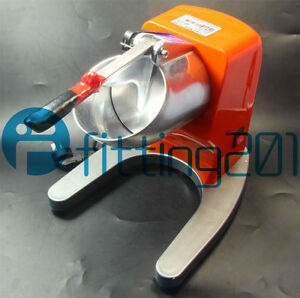 New Th 168 Snow Cone Machine 65kg h Commercial Electric Ice Shaver Crusher 220v