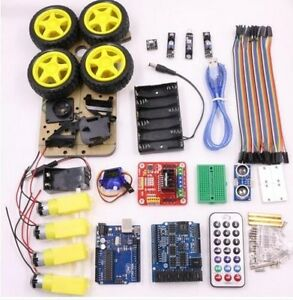 Uno R3 Development Board Suite Intelligent Robot Car Learning Set For Arduino