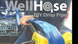2 Well Hose Diy Flexible Drop Pipe For Water Well Submersible Pump 200 W fit