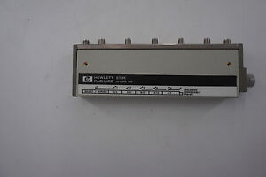 Agilent 8769k Multiport Coaxial Switch Dc To 26 5 Ghz Sp6t