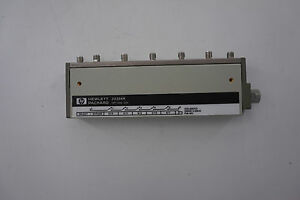 Agilent 33366k Multiport Coaxial Switch Dc To 26 5 Ghz 1p6t
