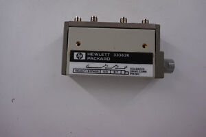 Agilent 33363k Multiport Coaxial Switch Dc To 26 5 Ghz 1p3t