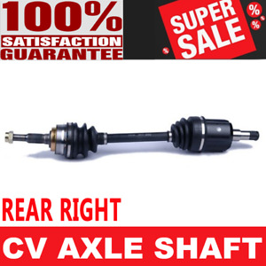 Rear Right Cv Joint Axle Shaft For Pontiac Fiero 84 88 Automatic Transmission