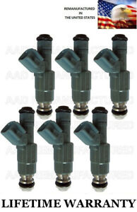 Genuine Bosch Set Of 6 Fuel Injectors For 1999 Ford Taurus Mercury Sable 3 0l V6